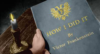 How I Did It by Victor Frankenstein
